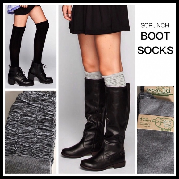 668aa68e8f3 COZY LUXE NORDIC WOOL BLEND SCRUNCH BOOT t